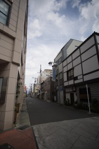 Our AirBnB was just down this street, with a convenience store right across the street.