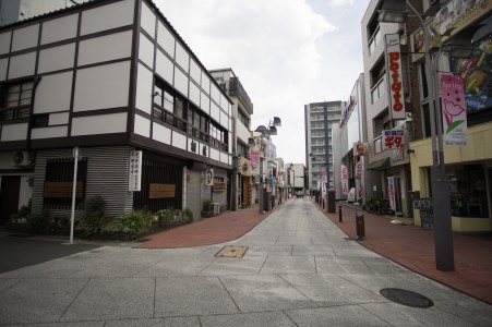 The area of Odawara where we stayed for a few nights.