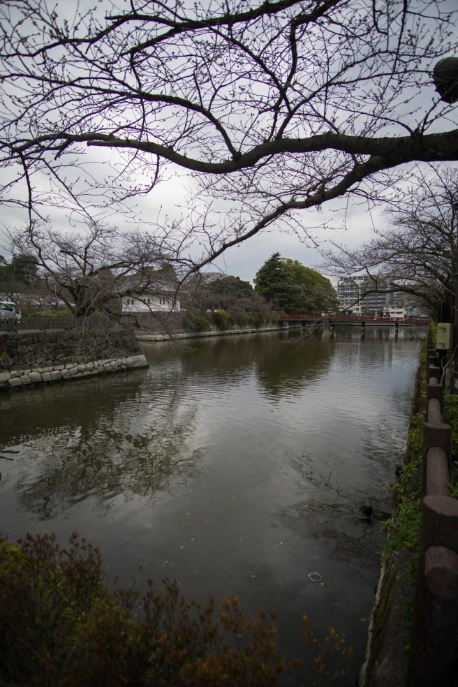 Walking around town toward Odawara castle.